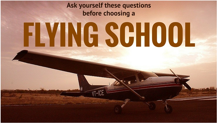Ask yourself these questions before choosing a Flying School